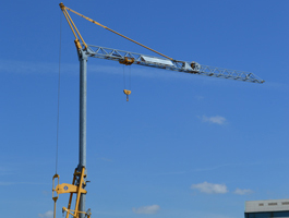 Pedestrian Operated Tower Crane
