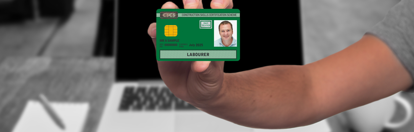 <small>YOU CAN NOW WORK TOWARDS YOUR CSCS GREEN CARD THROUGH OUR ONLINE eLEARNING SUITE</small>